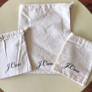 3 New J.Crew pouches